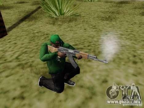 AK-47 de Saints Row 2 para GTA San Andreas tercera pantalla