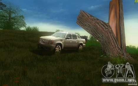 Cadillac Escalade EXT para GTA San Andreas left