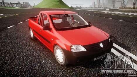 Dacia Logan Pick-up ELIA tuned para GTA 4 vista interior