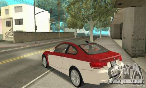 BMW M3 E92 Stock para GTA San Andreas