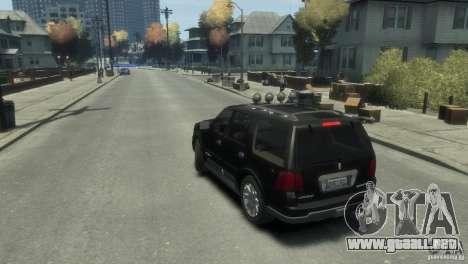Lincoln Navigator para GTA 4 left