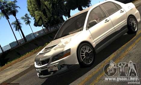 ENBSeries RCM para el PC débil para GTA San Andreas quinta pantalla