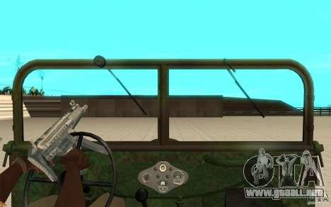 Gaz-64 piel 2 para la visión correcta GTA San Andreas