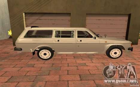 31022 Touring GAS para GTA San Andreas vista posterior izquierda