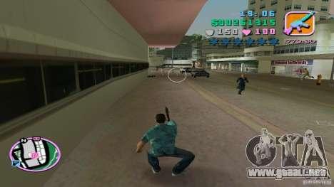 Tiro con una mano para GTA Vice City tercera pantalla