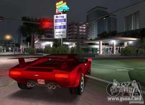 Infernus BETA para GTA Vice City visión correcta