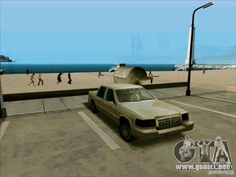 Una limusina corta para GTA San Andreas