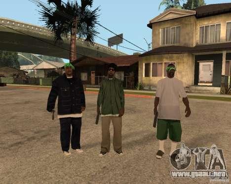 Grove de Ballasy para GTA San Andreas