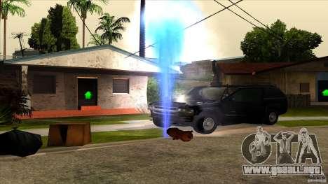 ENBSeries 0.75c para GTA San Andreas segunda pantalla
