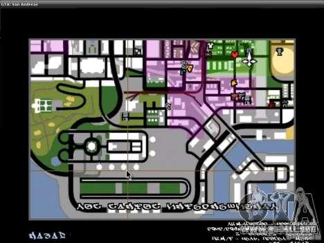 La fuente del NFS MW V2 para GTA San Andreas sexta pantalla