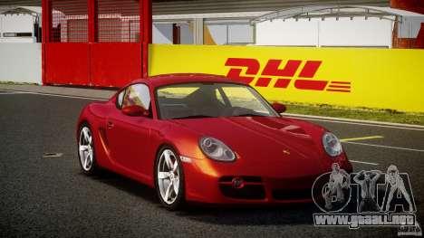 Porsche Cayman S v2 para GTA 4 visión correcta