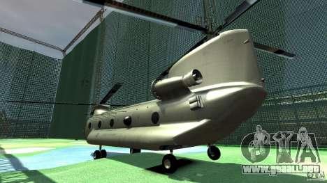 CH-47 para GTA 4 visión correcta