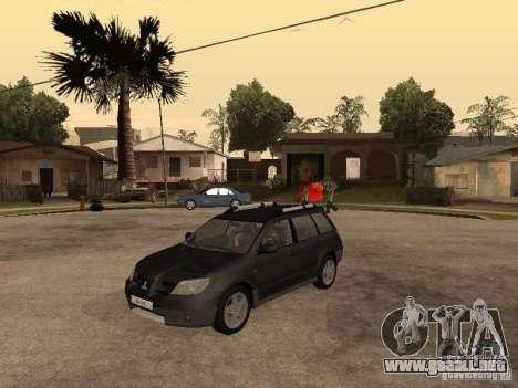 Mitsubishi Outlander 2003 para GTA San Andreas
