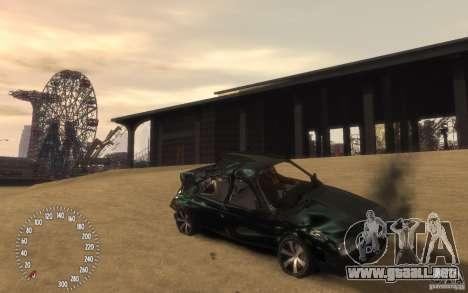 VAZ 21099 Duplet para GTA 4 vista desde abajo