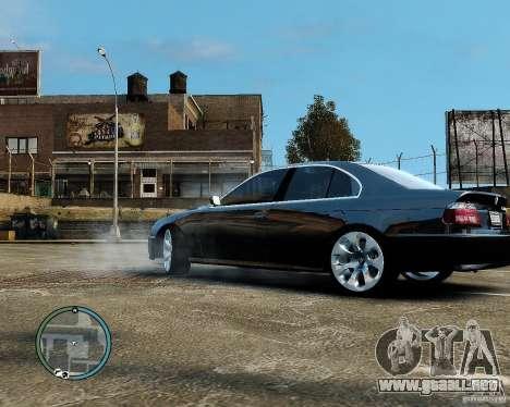 BMW 530I E39 [Final] para GTA 4 visión correcta