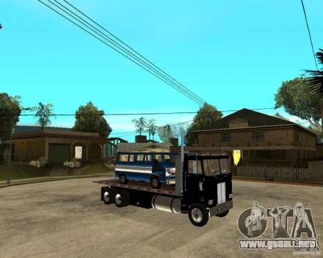 Peterbilt para la visión correcta GTA San Andreas