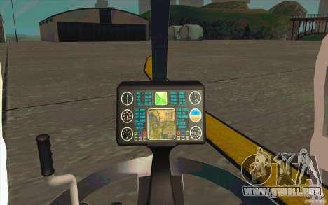 Dragonfly - Land Version para GTA San Andreas vista hacia atrás