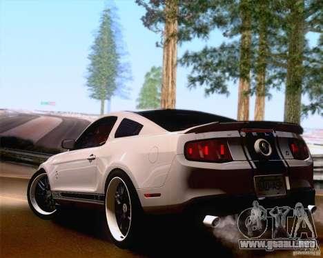 ENBSeries SA_NGGE para GTA San Andreas sucesivamente de pantalla