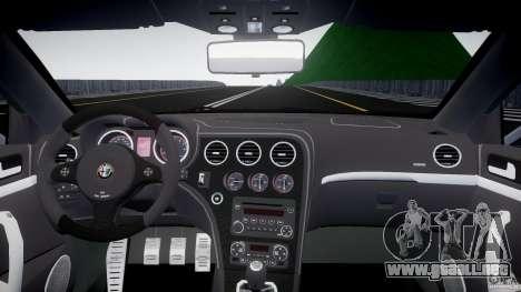 Alfa Romeo Brera Italia Independent 2009 para GTA 4 visión correcta