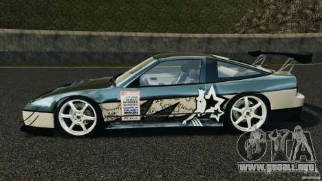 Nissan 240SX Time Attack para GTA 4 left