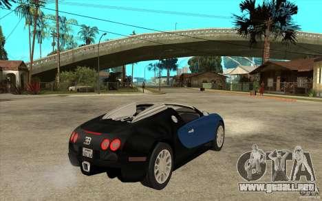 Bugatti Veyron Gran Sport 2011 para la visión correcta GTA San Andreas
