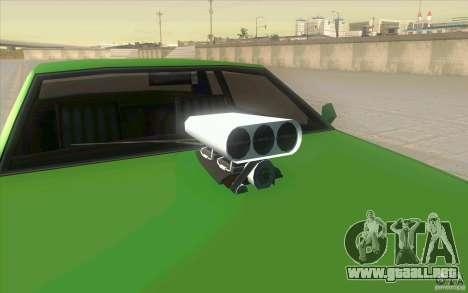 Mad Drivers New Tuning Parts para GTA San Andreas décimo de pantalla
