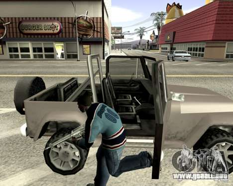 Cubierta del sistema para GTA San Andreas