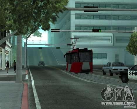 LM-2008 para GTA San Andreas vista hacia atrás