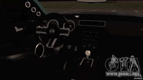 Shelby Mustang 1000 para GTA San Andreas left