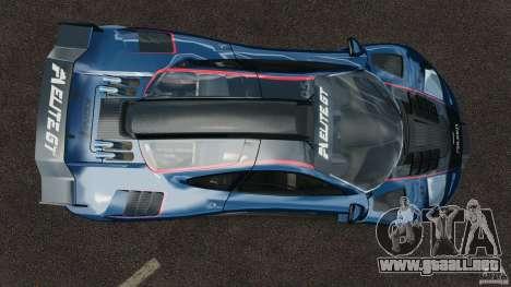 McLaren F1 ELITE para GTA 4 visión correcta
