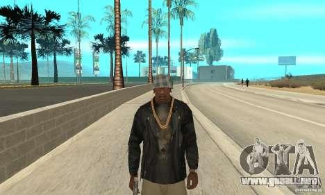 Westcoast skin para GTA San Andreas segunda pantalla