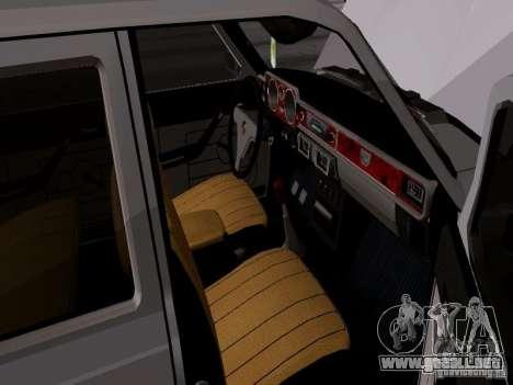 Volga GAZ 24-12 SL para GTA San Andreas vista hacia atrás