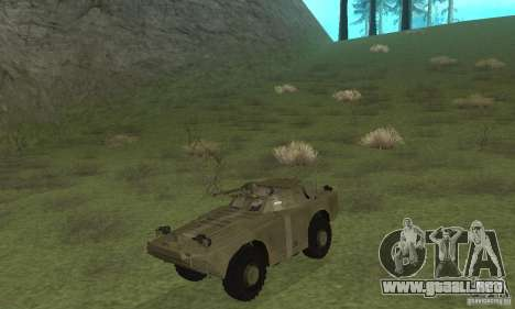 BRDM-1 piel 2 para GTA San Andreas left
