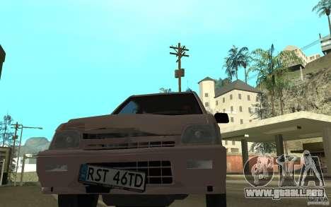 Daewoo Tico SX para la vista superior GTA San Andreas