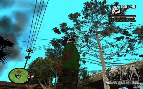 New Grove-Street para GTA San Andreas sucesivamente de pantalla