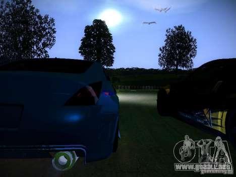 Nissan 350Z Falken Tire para vista lateral GTA San Andreas