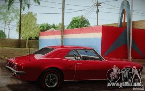 Pontiac Firebird 400 (2337) 1968 para el motor de GTA San Andreas