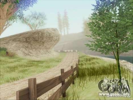 SA_Nvidia Beta para GTA San Andreas sucesivamente de pantalla