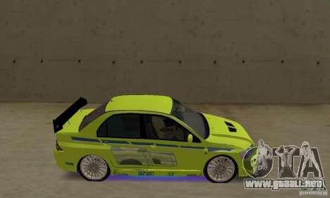Luces de neón azules mejoradas para GTA San Andreas