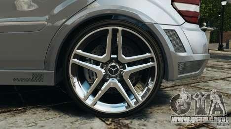 Mercedes-Benz ML63 AMG Brabus para GTA 4 vista desde abajo
