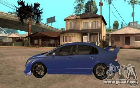 Honda Civic Mugen v1 para GTA San Andreas left