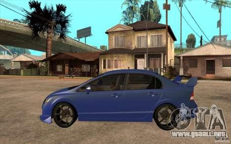 Honda Civic Mugen v1 para GTA San Andreas left