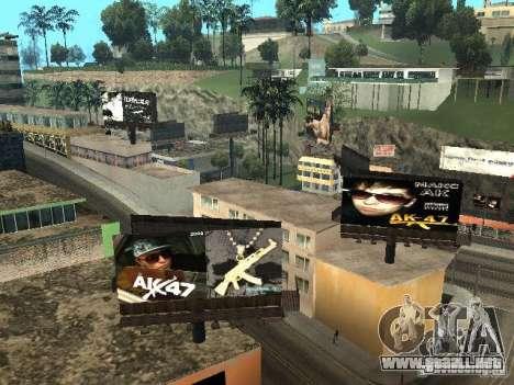 Rep cuarto v1 para GTA San Andreas octavo de pantalla