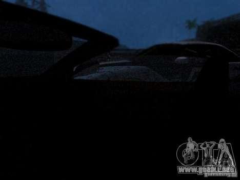 Aston Martin DB9 Volante 2006 para vista lateral GTA San Andreas