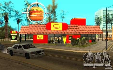 Pumper Nic Mod para GTA San Andreas tercera pantalla