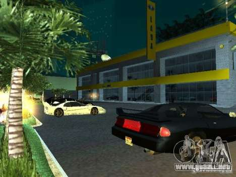 Nuevo showroom en San Fierro para GTA San Andreas novena de pantalla