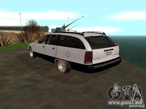 Chevrolet Caprice Wagon 1992 para GTA San Andreas left