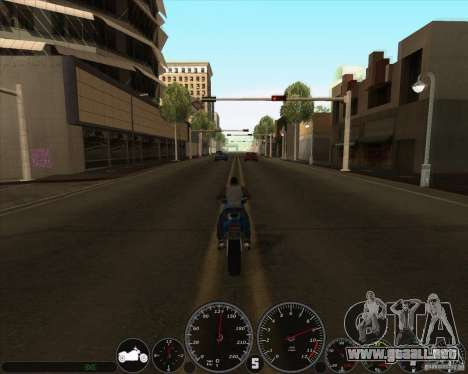 Memphis velocímetro v2.0 para GTA San Andreas segunda pantalla