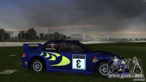 Subaru Impreza 22B Rally Edition para GTA Vice City visión correcta
