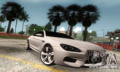 BMW M6 Coupe 2013 para GTA San Andreas